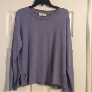 Sweaters - Pale Blue Sweater
